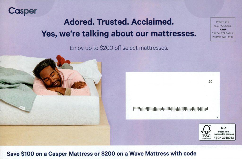 Casper direct mail