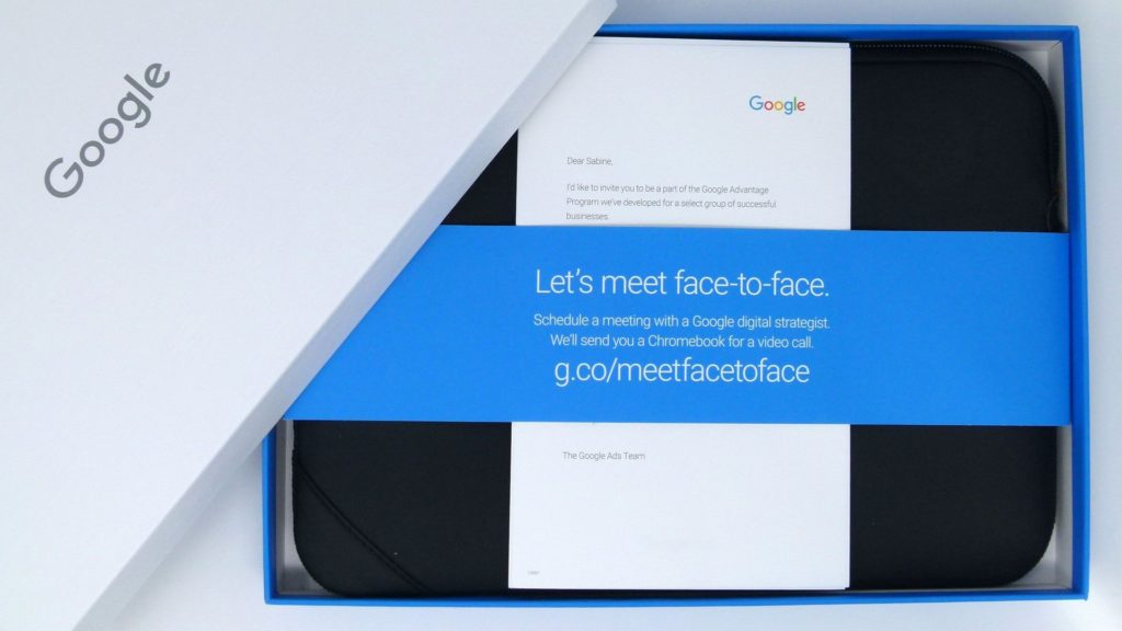 Google B2B Marketing: Direct Mail with Email Trigger