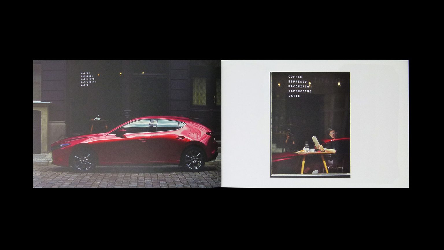 """The creative team developed something they call """"moments in time"""" – catching people taking a quick glance at the car out of the corner of their eye."""