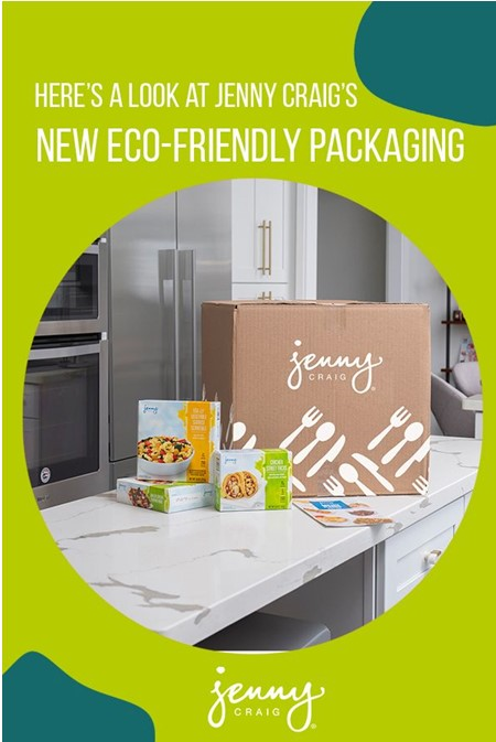 Jenny Craig puts an emphasis on sustainability.
