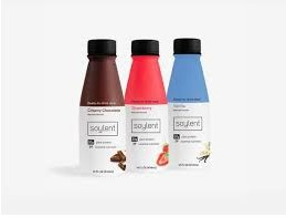 Soylent promotes its nutritional value as a key selling point.