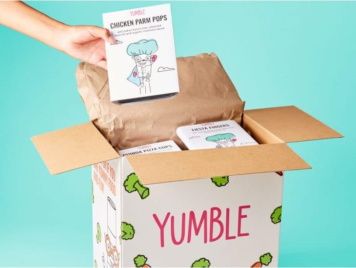 Yumble offers healthy pre-made meals for kids delivered via a subscription service