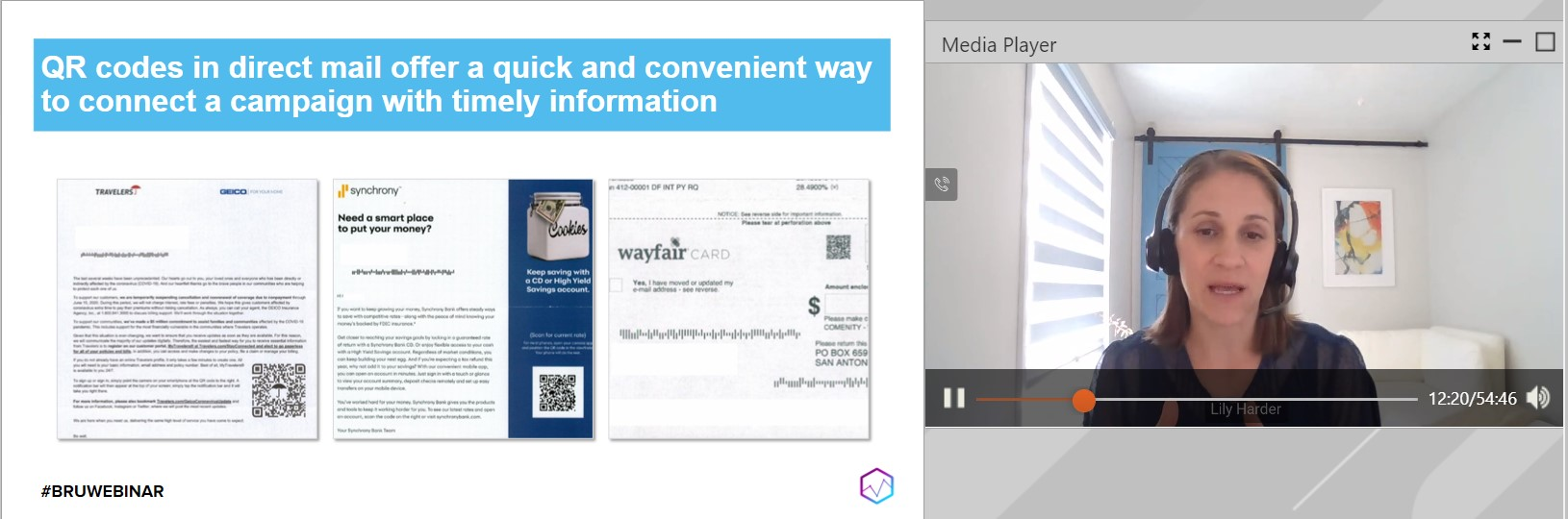 Lily Harder shares some examples of QR codes used successfully.